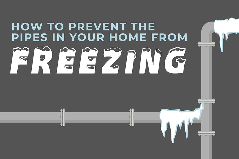 video - how to prevent the pipes in your home from freezing